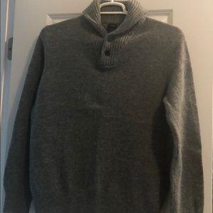 Jcrew wool button sweater